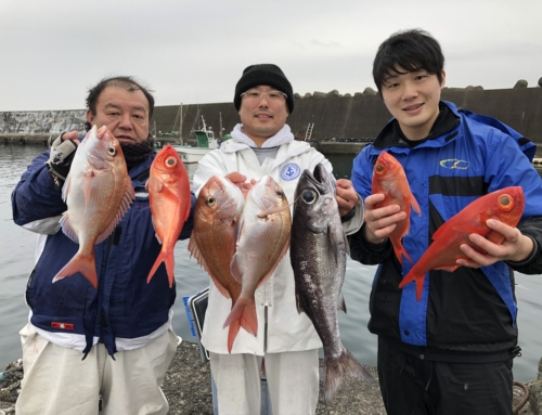 初島キンメ&コマセ五目